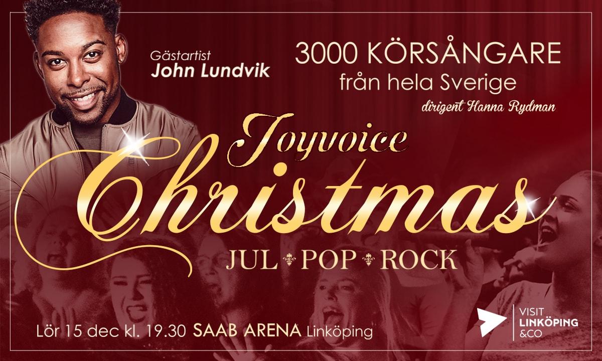 Joyvoice Christmas - 3000 körsångare från hela Sverige